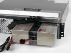 Горячая замена аккумуляторов (вид спереди)